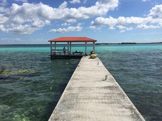 bacalar, laguna bacalar, green monkey hostel