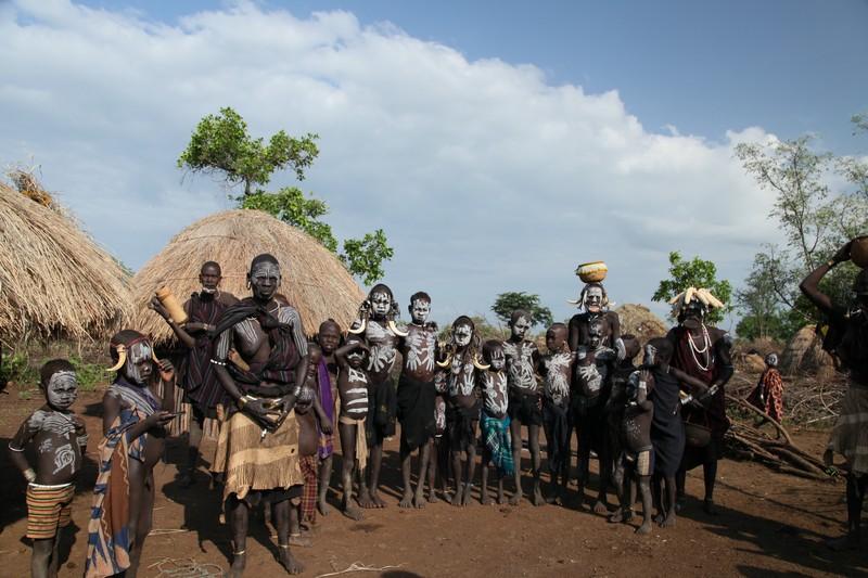 omo vadisi kabileleri, etiyopya, mursi kabilesi