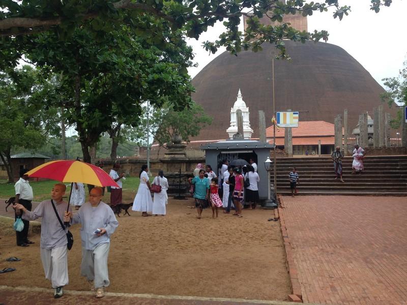 anuradhapura harabeleri, sri lanka tarihi