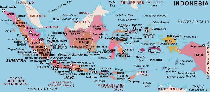 endonezya hakkında bilgiler