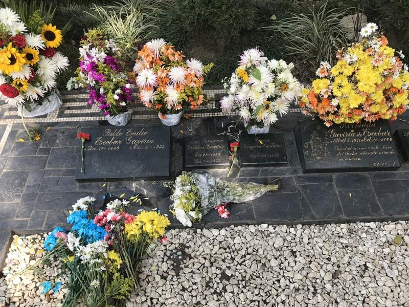 escobar'ın mezarı