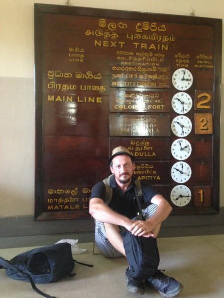 kandy, ella arası tren yolculuğu