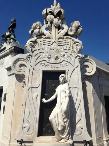 katolik mezarları, arjantin kültürü