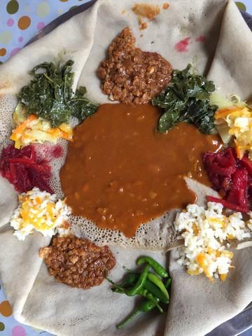 njera ekmeği, etiyopya mutfağı