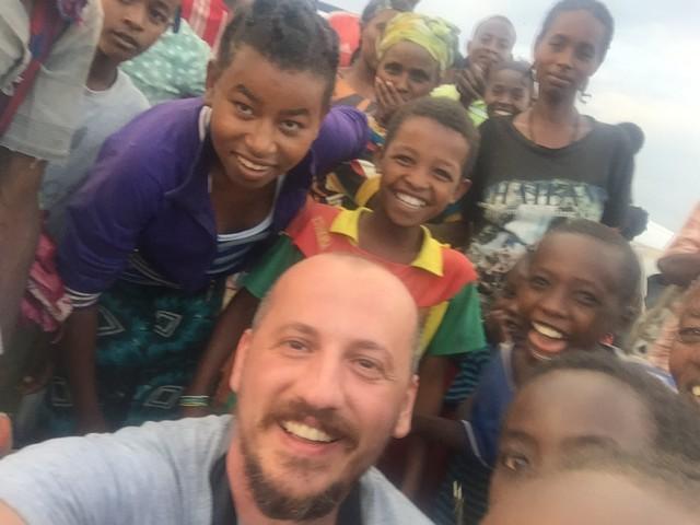 etiyopyalı çocuklar, omo vadisi