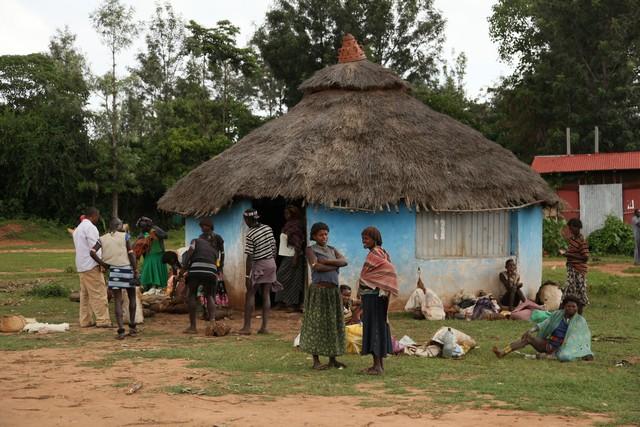 kef afer pazarı, etiyopya