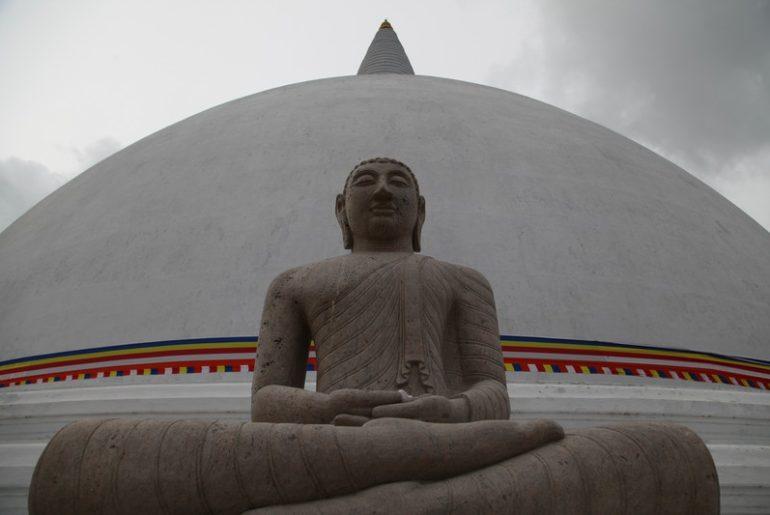 stupa, budist tapınağı, sri lanka gezi