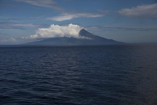endonezya volkanları